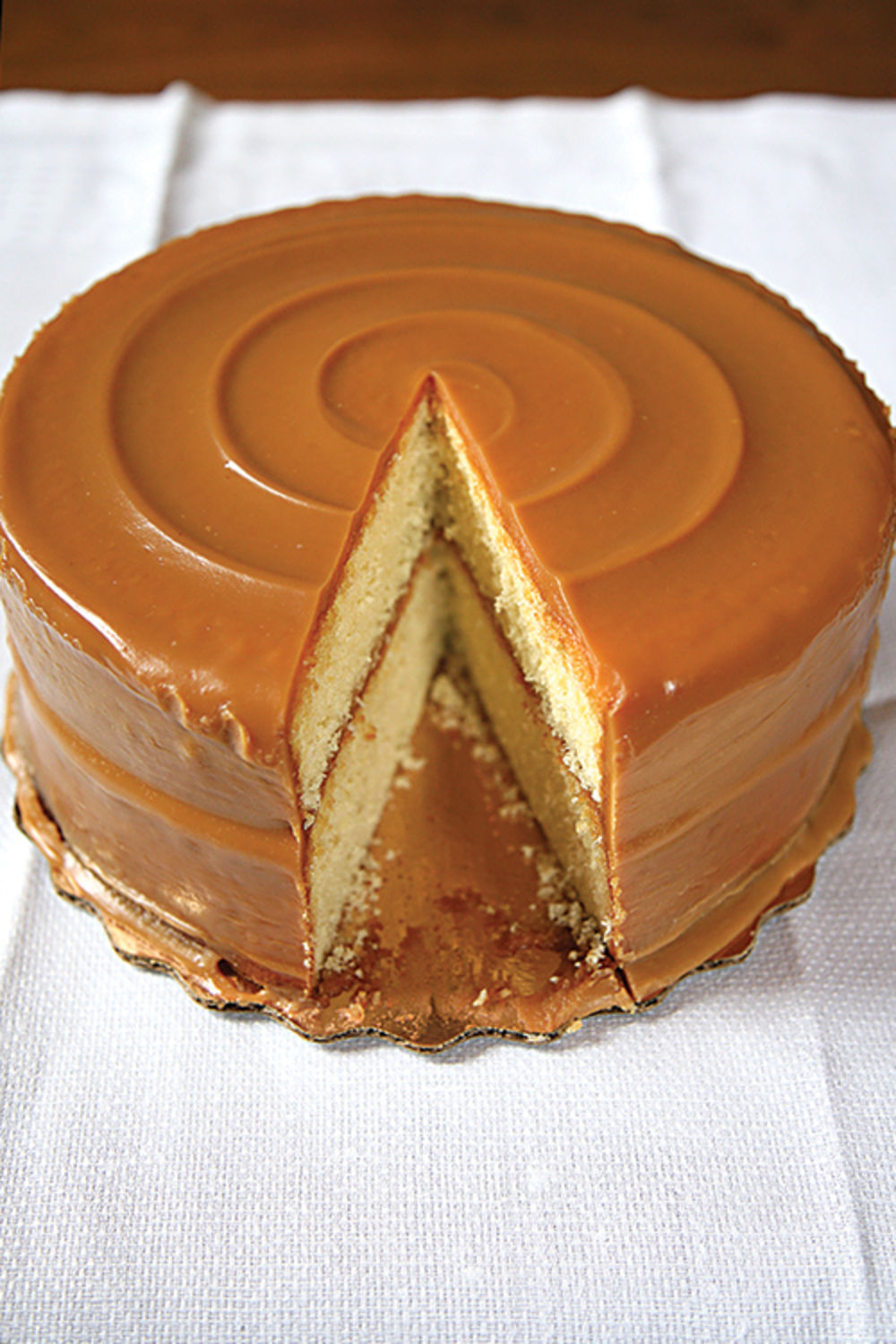 German Chocolate Pound Cake With Caramel Icing